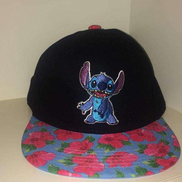 a016b519d60 Disney Accessories - Disney Lilo and Stitch Hawaiian Snapback Hat
